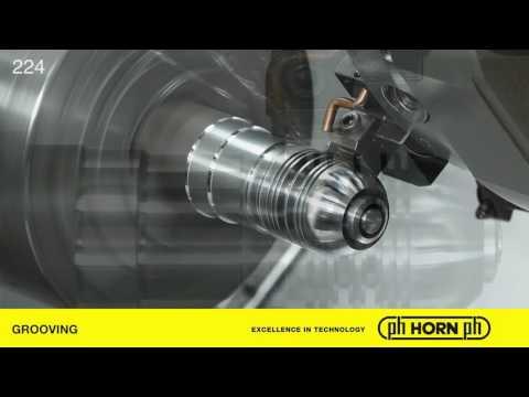 Embedded thumbnail for Tornitura di gole su alluminio